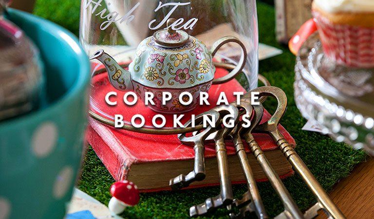 Wonderland House Corporate Bookings